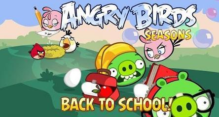 دانلود نسخه ي جدید بازی پرندگان خشمگین Angry Birds Seasons v2.5.0براي كامپيوتر