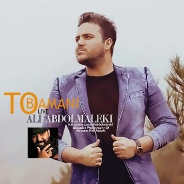 دانلود رایگان آهنگ جدید تو با منی از علی عبدالمالکی 94