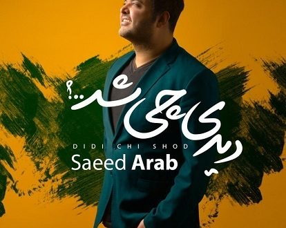 دانلود آهنگ جدید عاشقانه 96 - سعید عرب بنام دیدی چی شد
